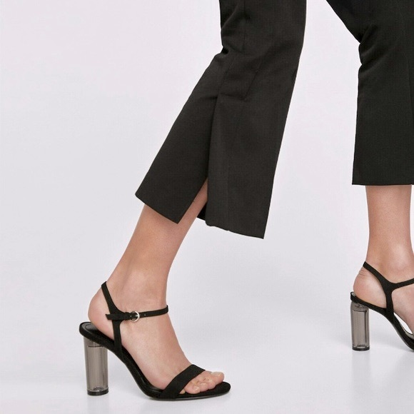 Zara Basic Sandals with Acrylic Heels